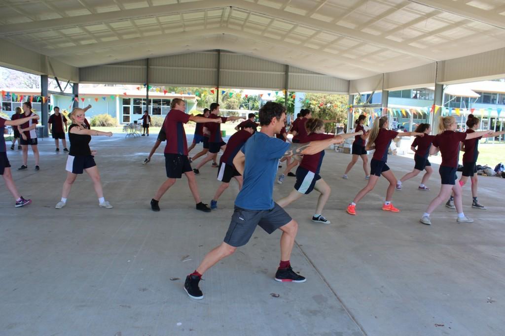 martial arts in schools
