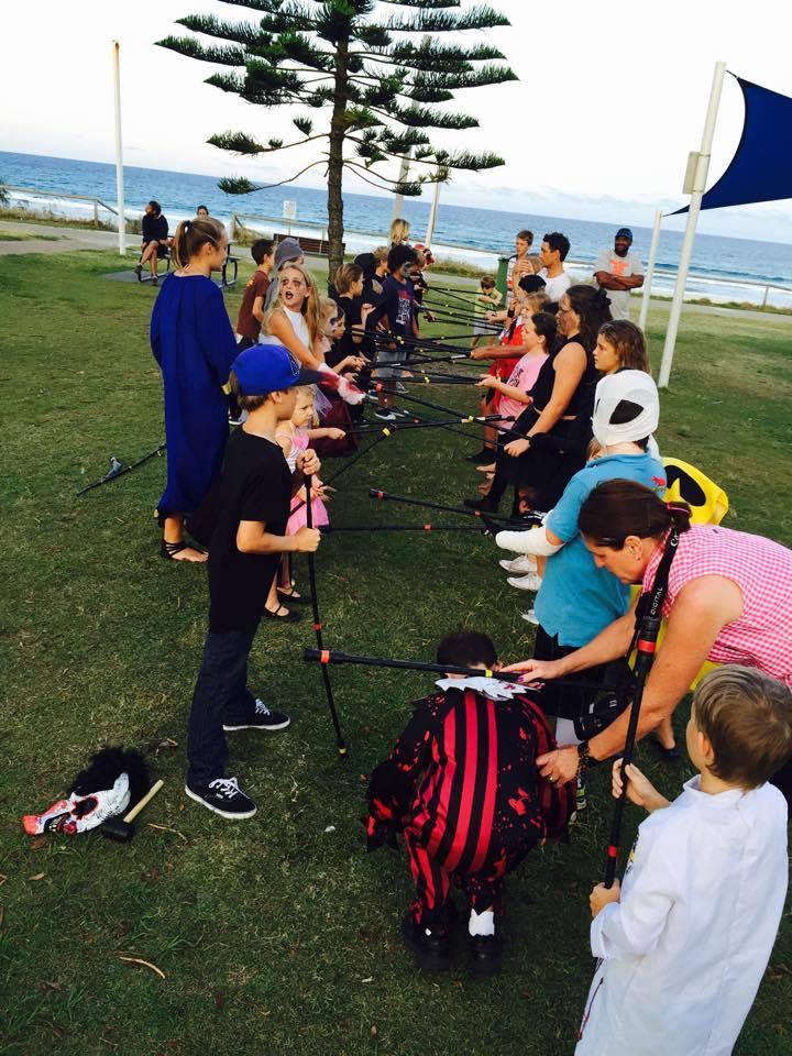 Active kids workshops