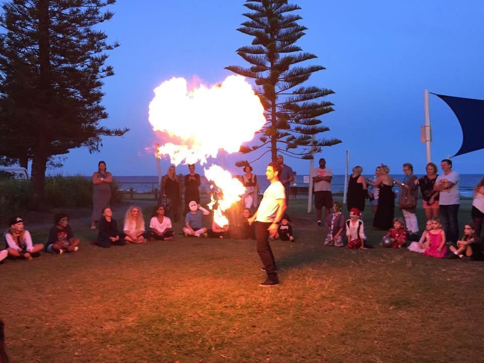 Fire twirling workshops