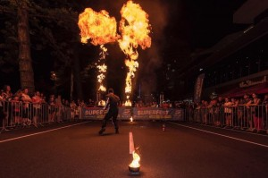 Supercars #GC600 Energy Entertainment Fire show