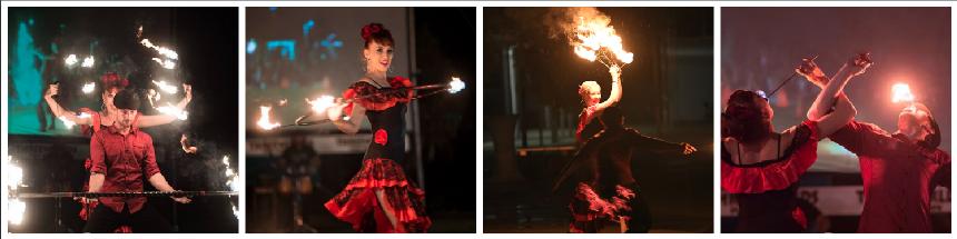 Spanish Fire Show