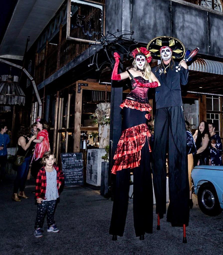 Stilt Walking Themed Roving Performers