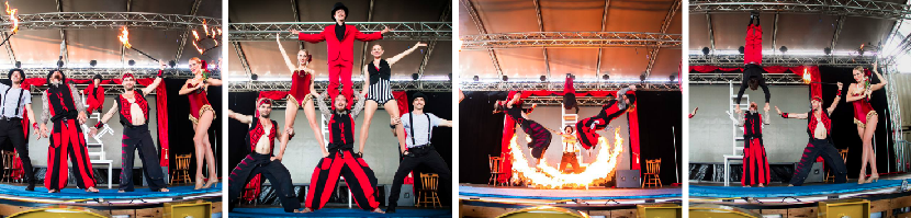 Elements Circus show