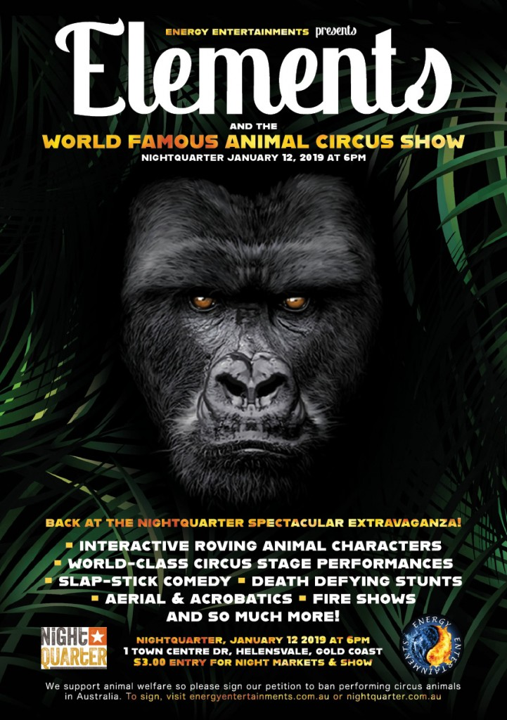 Elements & The World Famous Animal Circus