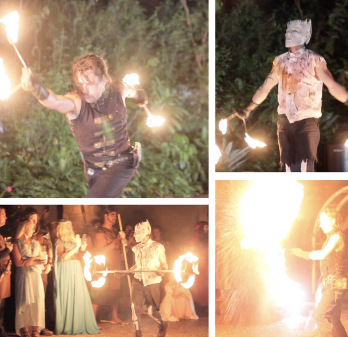 Game of Thrones Themed Fire Show
