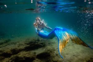 Mermaid underwater copy