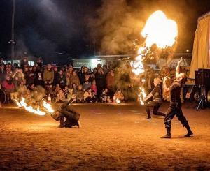 trio fire show
